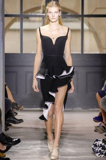 frills: Balenciaga
