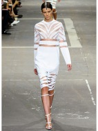 white slice: Alexander Wang