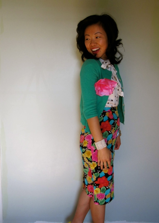 Apr: Flower Power Suit Part 2 - Pattern Play