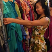 colorful frocks!