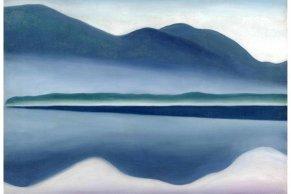 "Georgia O'Keeffe's ""Lake George"""