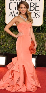 Jessica Alba, Golden Globes 2013