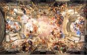 Ceiling fresco 1691-1684, Andrea Pozzo