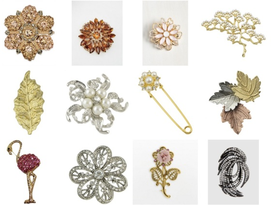 brooch fashion jewelry