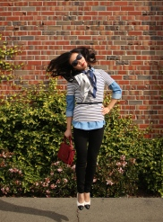 February: Preppy Stripes & Casual Chambray