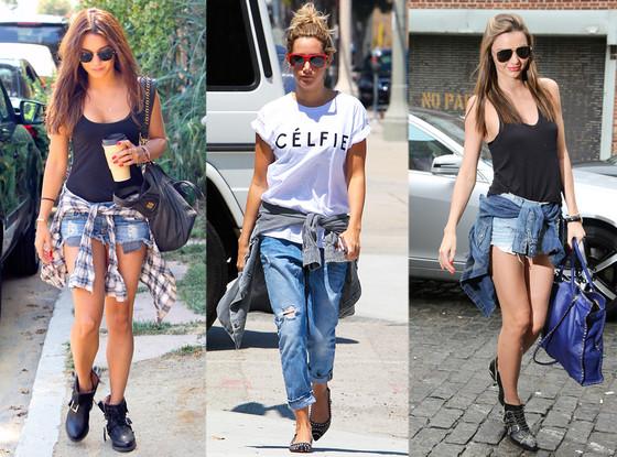 fashion trend shirt around the waist