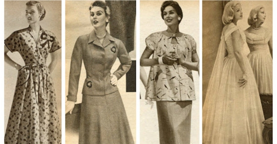 Fashion Vintage 1950s Dresses