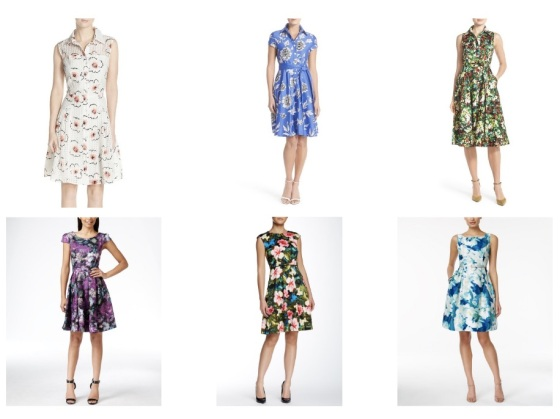 fashion style spring trends floral dresses
