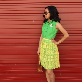 July: Green and Yellow Brights